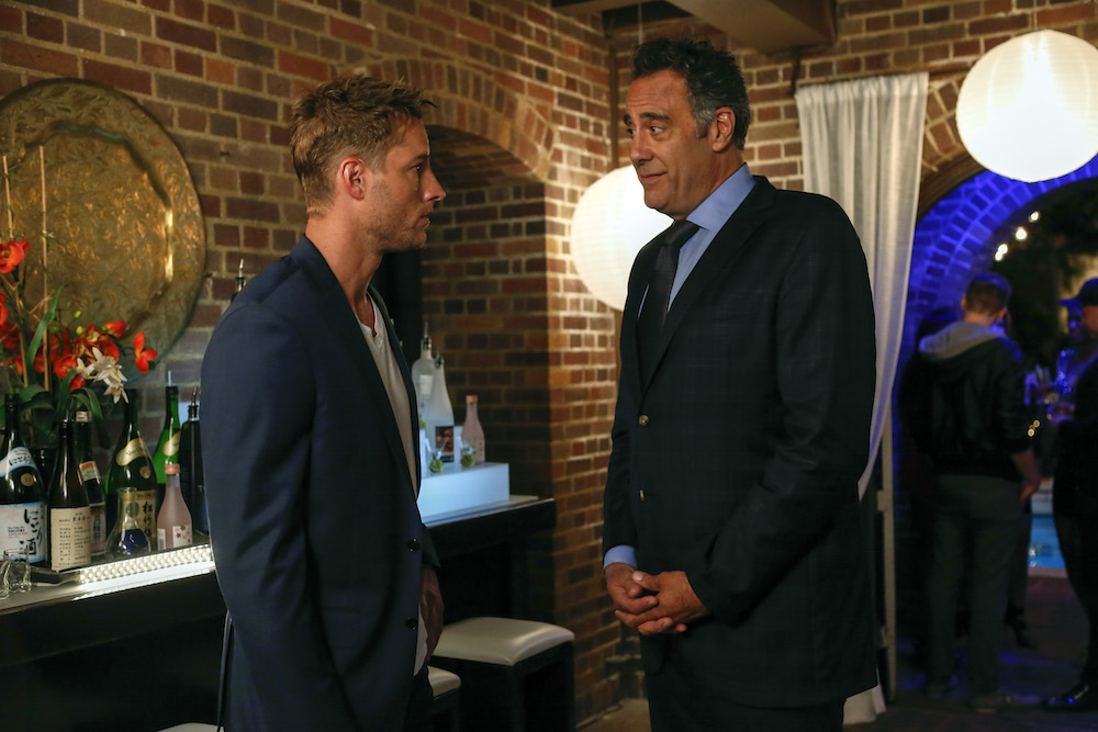 Justin Hartley and Brad Garrett on This Is Us - NBC