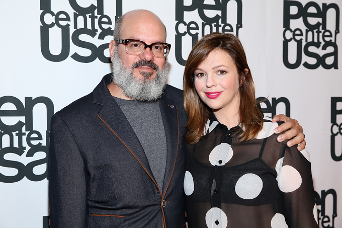 Amber Tamblyn David Cross Getty Images