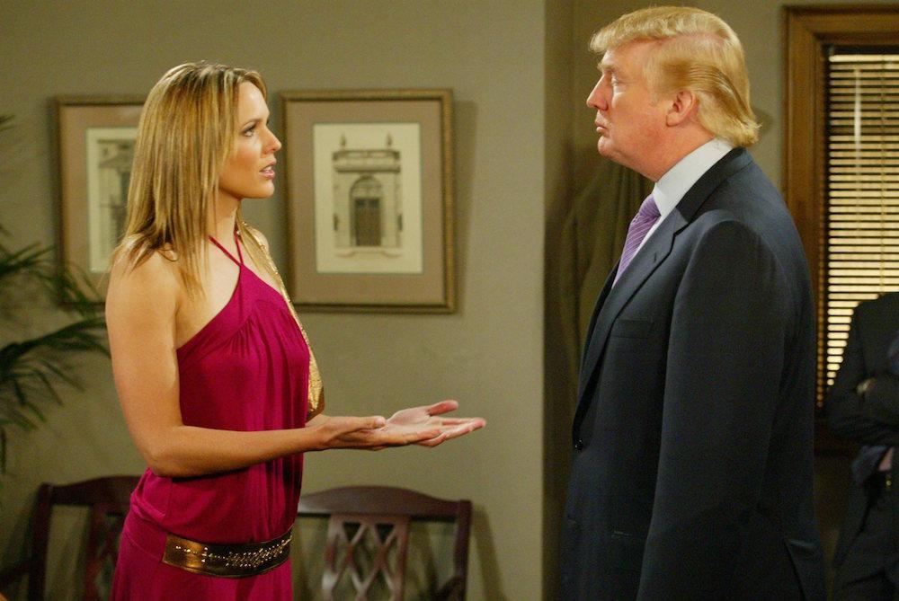 DAYS Arianne Zucker and Donald Trump - JPI