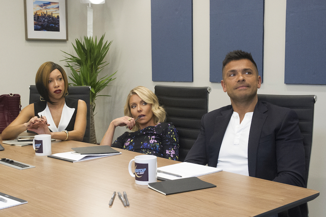 Kelly Ripa & Mark Consuelos on Nightcap - Jeffrey Neira