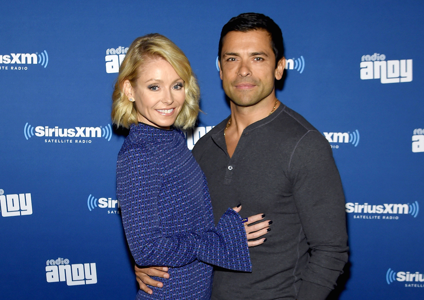 Kelly Ripa & Mark Consuelos - Getty