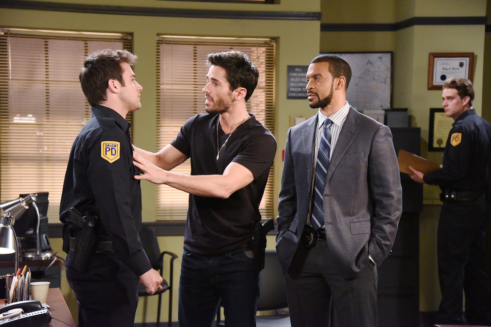 Aaron D. Spears on Days of Our Lives - JPI