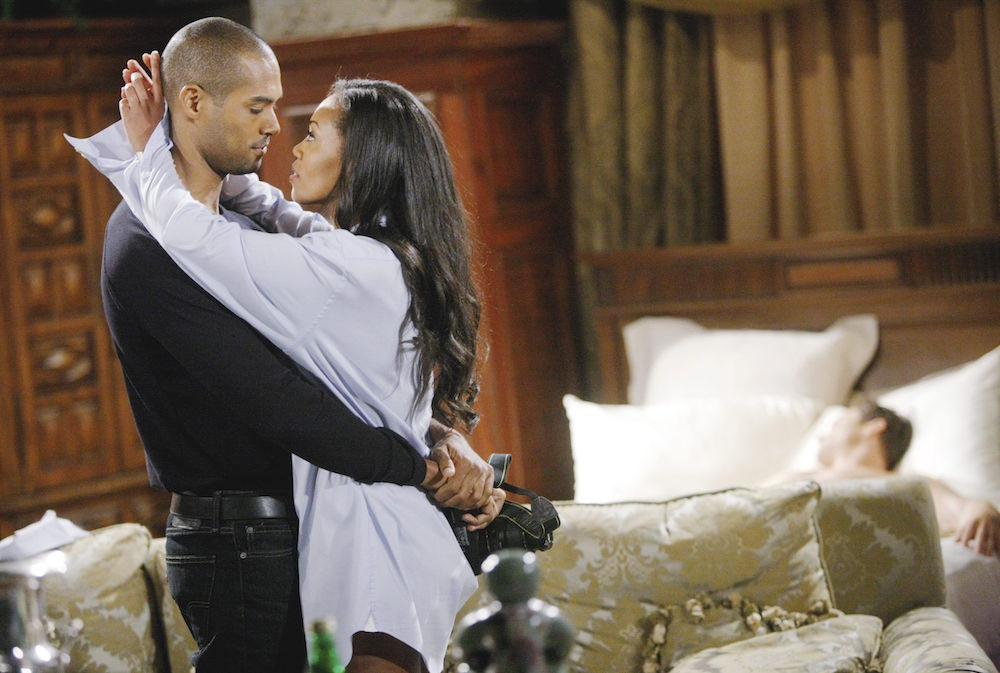 Lamon Archey and Mishael Morgan on Y&R - JPI
