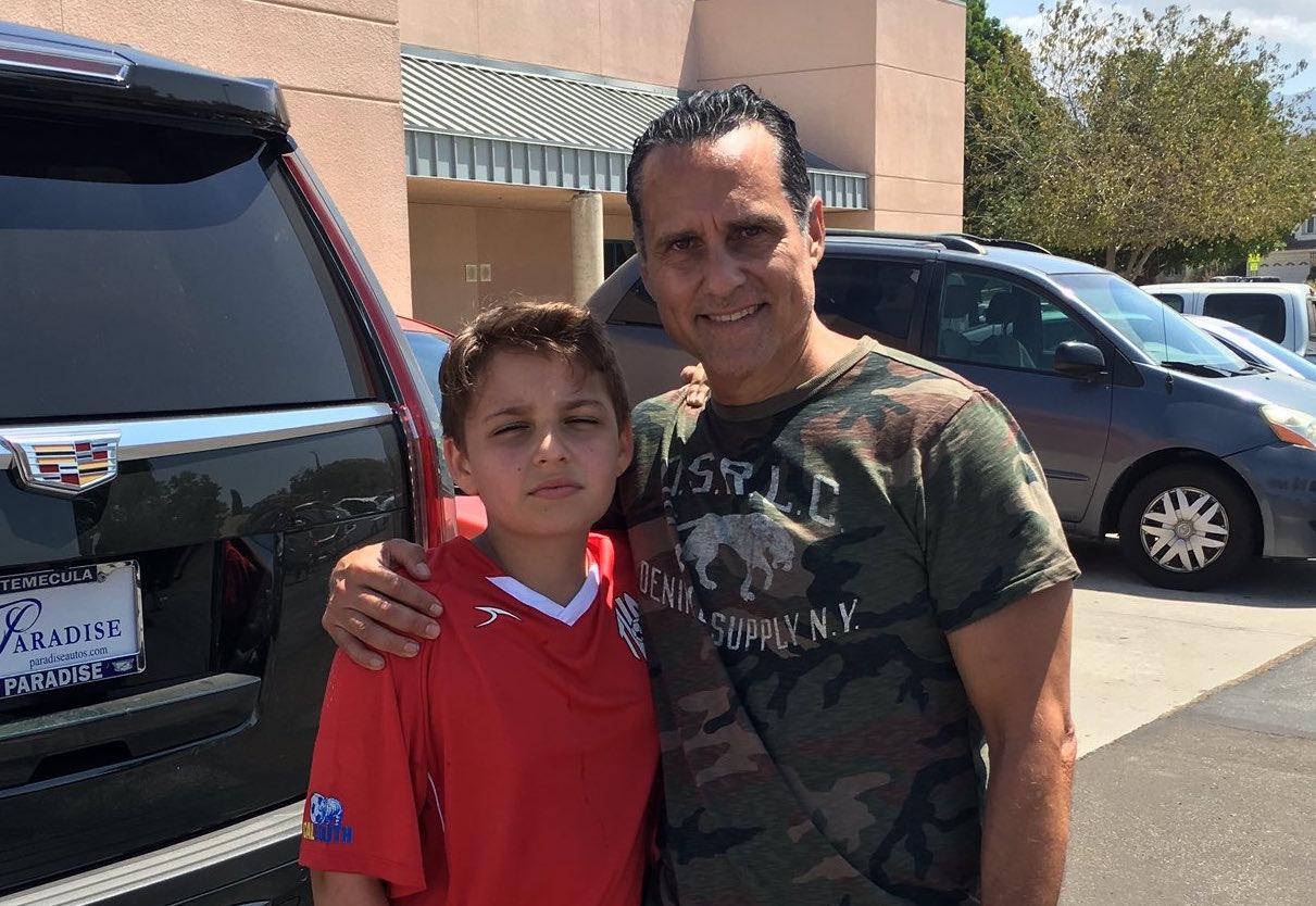 Maurice Benard & Son Joshua - Twitter