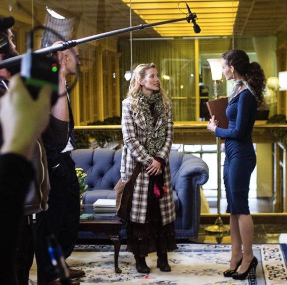 Alicia Minshew filming The Funeral Guest - Matthew Kohnen
