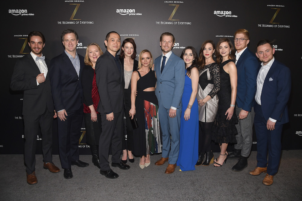 Christina Lind and the Cast of Z - Getty