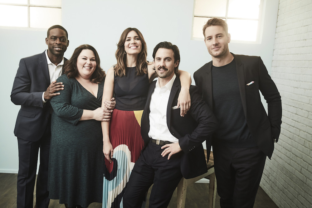 Justin Hartley & This Is Us Cast - NBC/Getty