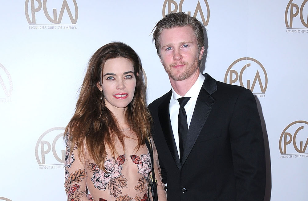 Amelia Heinle and Thad Luckinbill - Getty