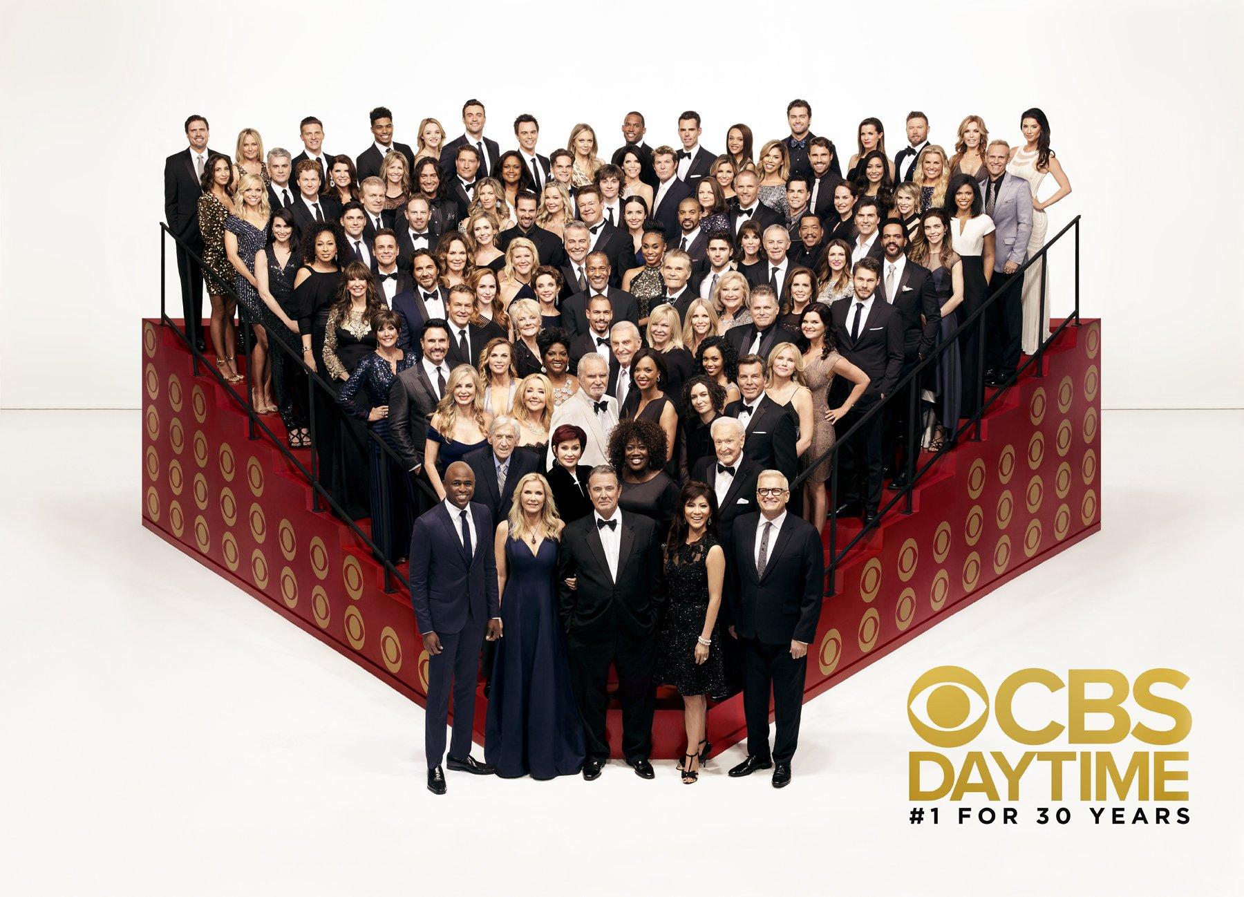 CBS Daytime Class Photo - CBS