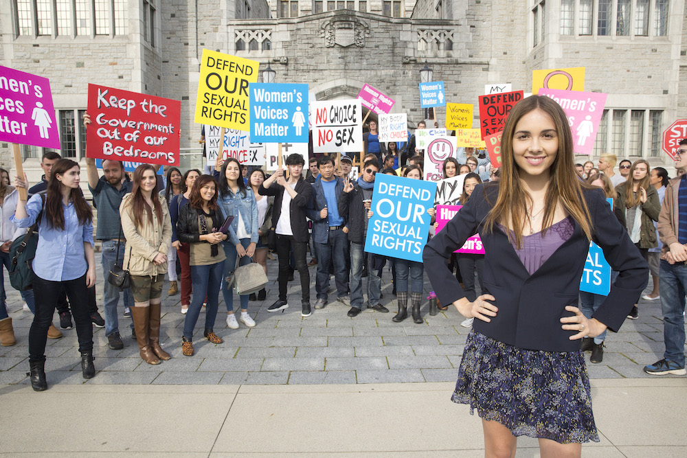 Haley Pullos in From Straight A's —Lifetime