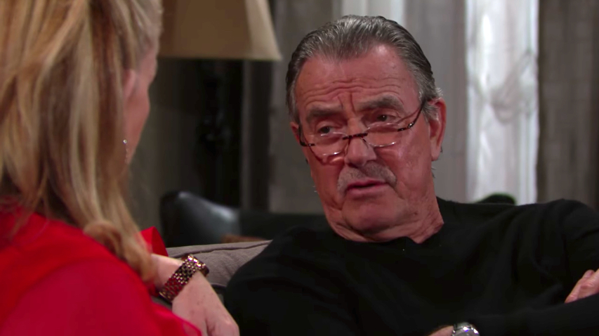 Y&R Nikki and Victor - CBS