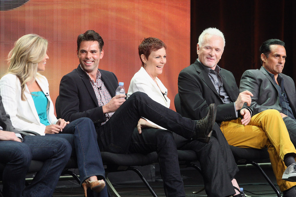 GH Cast at 2012 Summer TCA - Getty