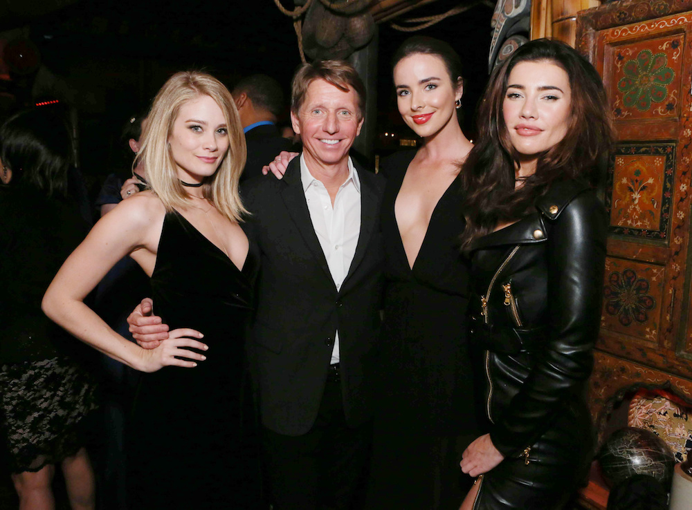 B&B's Kim Matula, Bradley Bell, Ashleigh Brewer, and Jacqueline MacInnes Wood - JPI