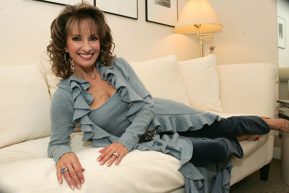 Susan Lucci Dressing Room Couch - Getty