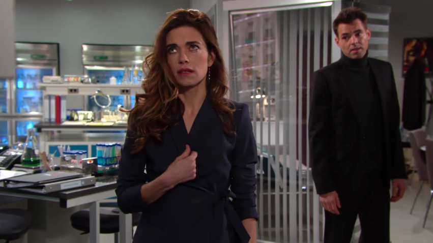 Y&R Victoria and Billy - CBS