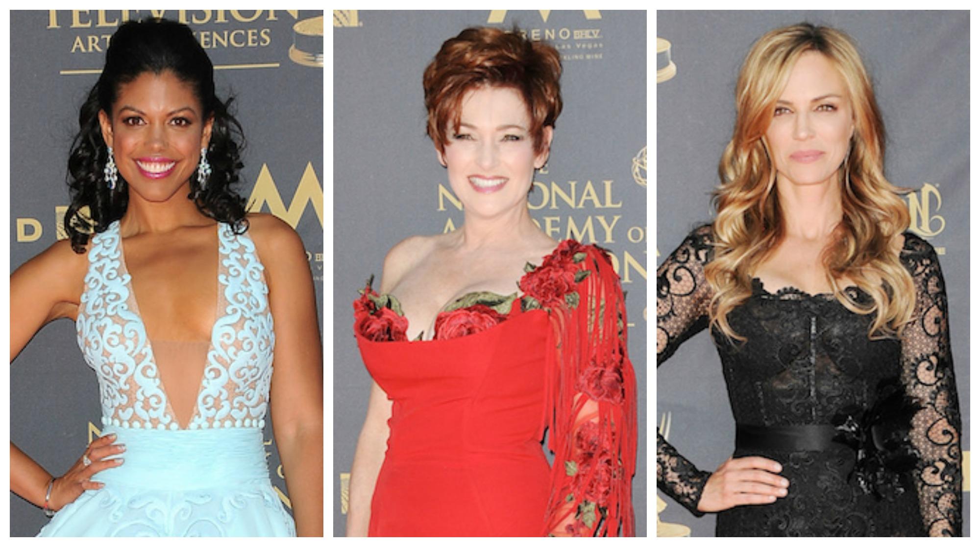 2017 Daytime Emmys Fashion Trio -JPI