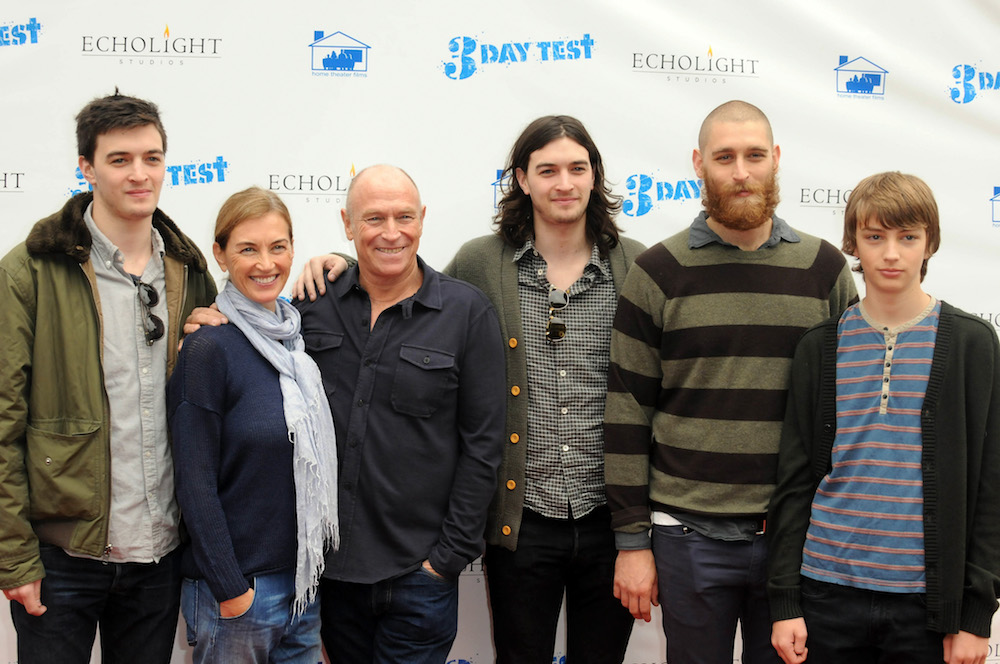 Corbin Bernsen and Family - Getty
