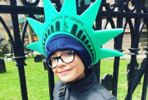 Nicolas Bechtel in NYC - Instagram