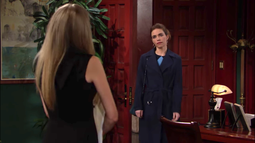 Y&R Abby and Victoria - CBS
