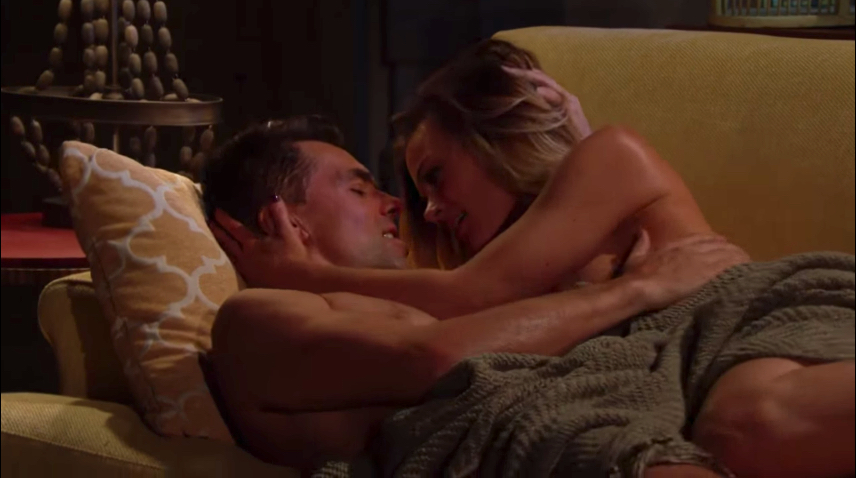 Y&R Billy and Phyllis Sexy - CBS