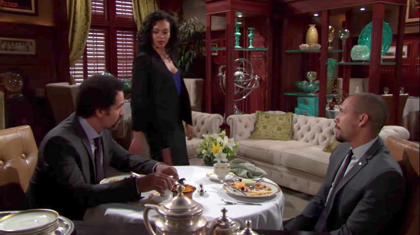 Y&R Neil, Hilary, and Devon - CBS