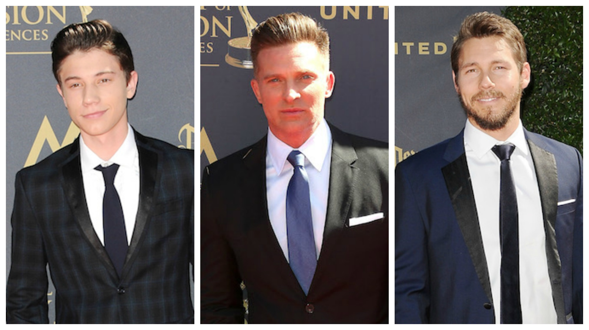 2017 Daytime Emmys Men CBS Trio - JPI/Getty