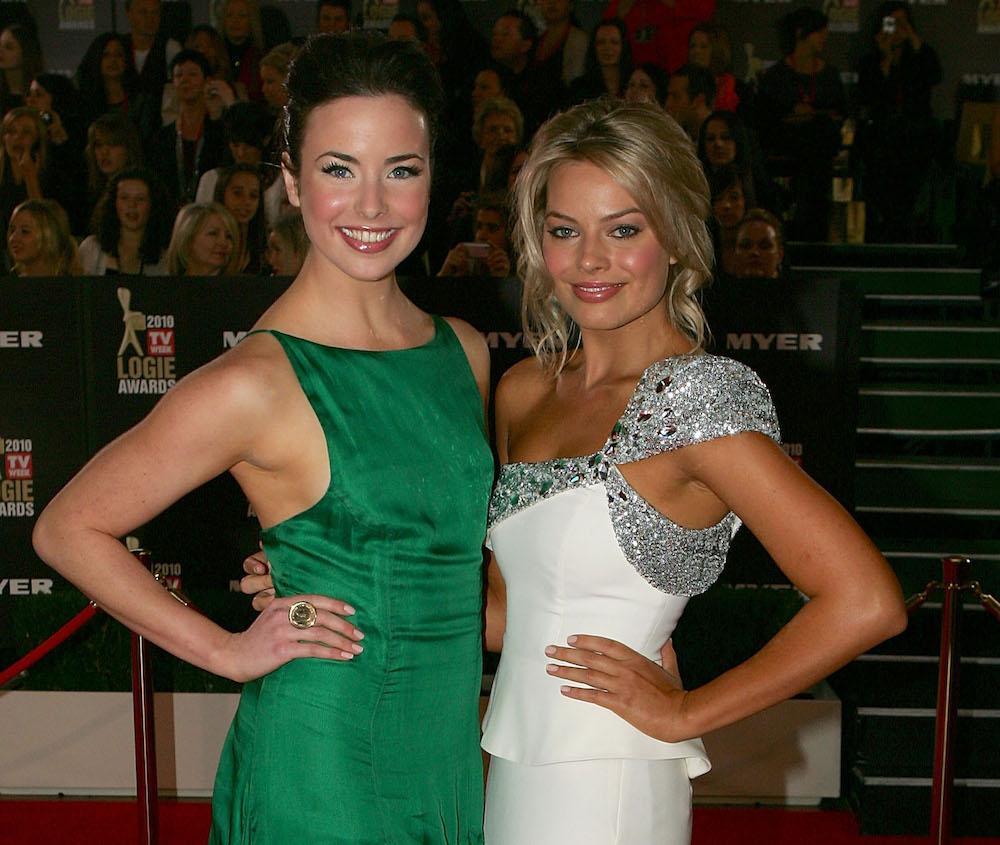 Ashleigh Brewer & Margot Robbie - Getty