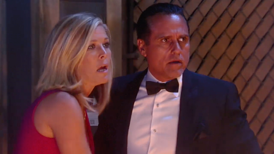 GH Carly and Sonny Fire - ABC