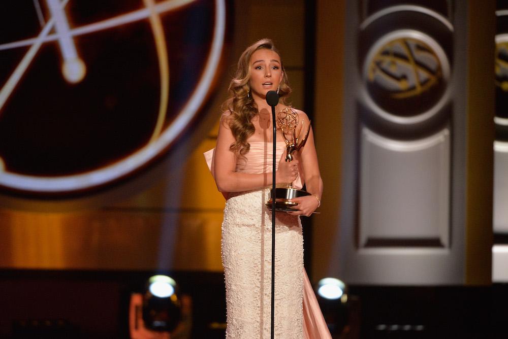 Lexi Ainsworth Emmy Stage - Getty