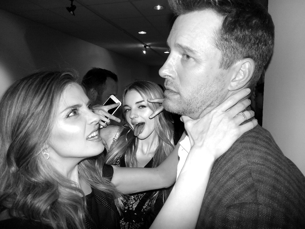 Jen Lilley, Olivia Rose Keegan, and Eric Martsolf — Young
