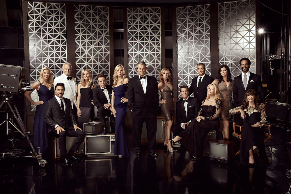 B&B and Y&R Stars Cast Photo - CBS