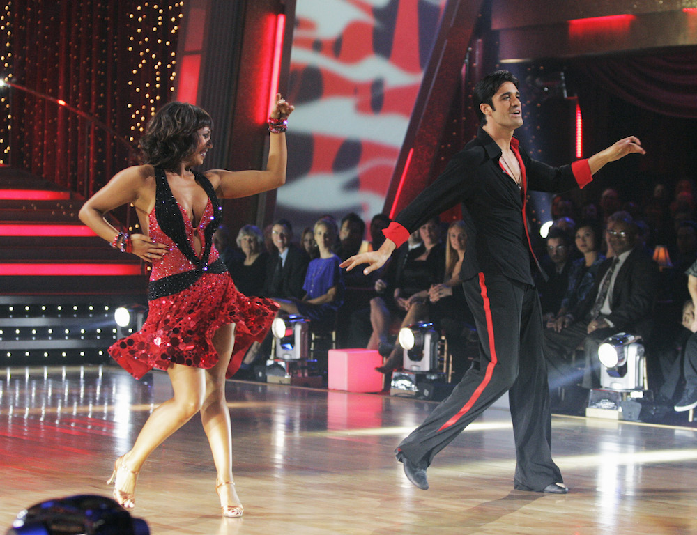 Gilles Marini on Dancing With the Stars - ABC/Getty