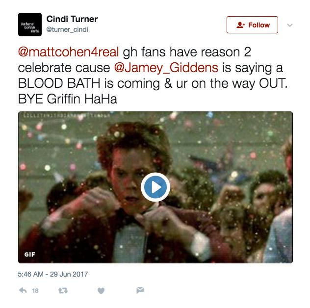 Matt Cohen Troll - Twitter