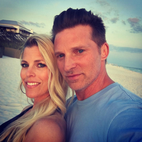 Steve Burton and Wife Sheree - Instagram