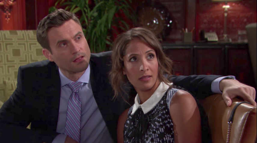 Y&R Cane and Lily - CBS