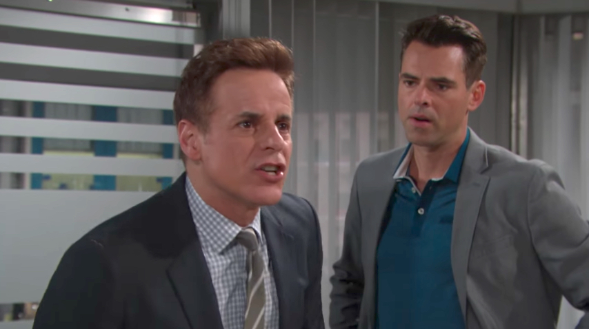 Y&R Michael and Billy - CBS
