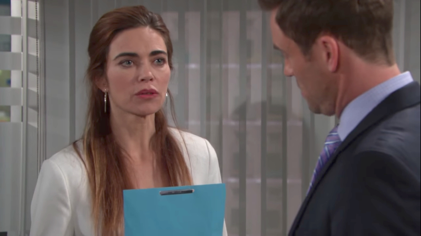 Y&R Victoria and Cane - CBS