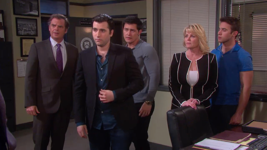DAYS Sonny Police Station - NBC