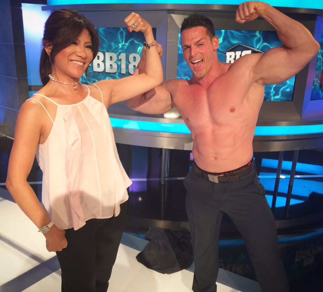Julie Chen and Jessie Godderz - Twitter