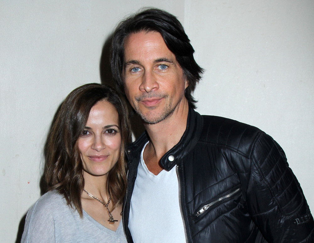 Rebecca Budig and Michael Easton - Bergman