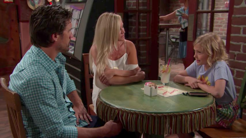 Y&R Nick, Sharon, and Faith - CBS