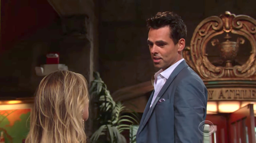 Y&R Phyllis and Billy - CBS