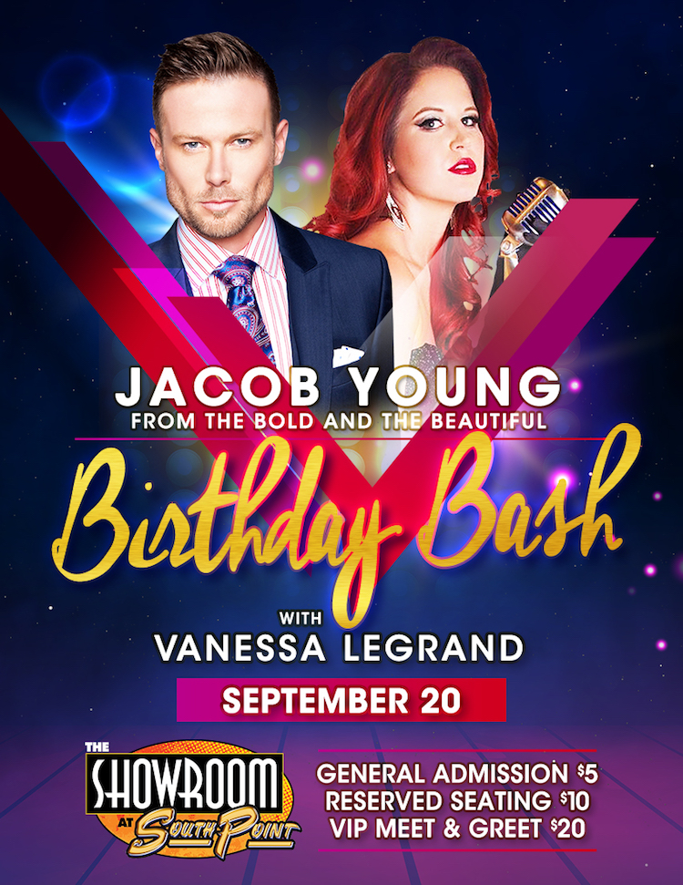 Jacob Young Vegas Poster
