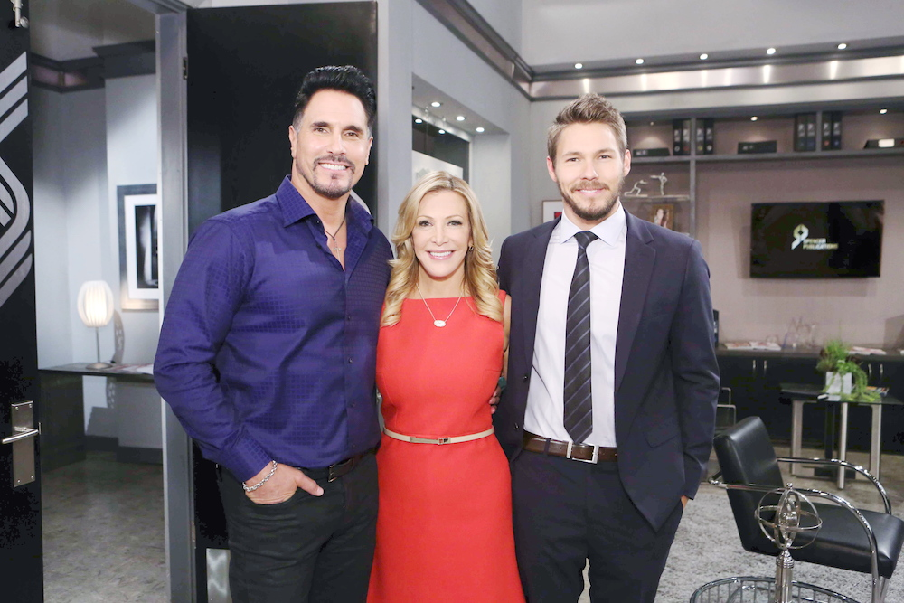 B&B Don Diamont, Kym Douglas, and Scott Clifton - JPI