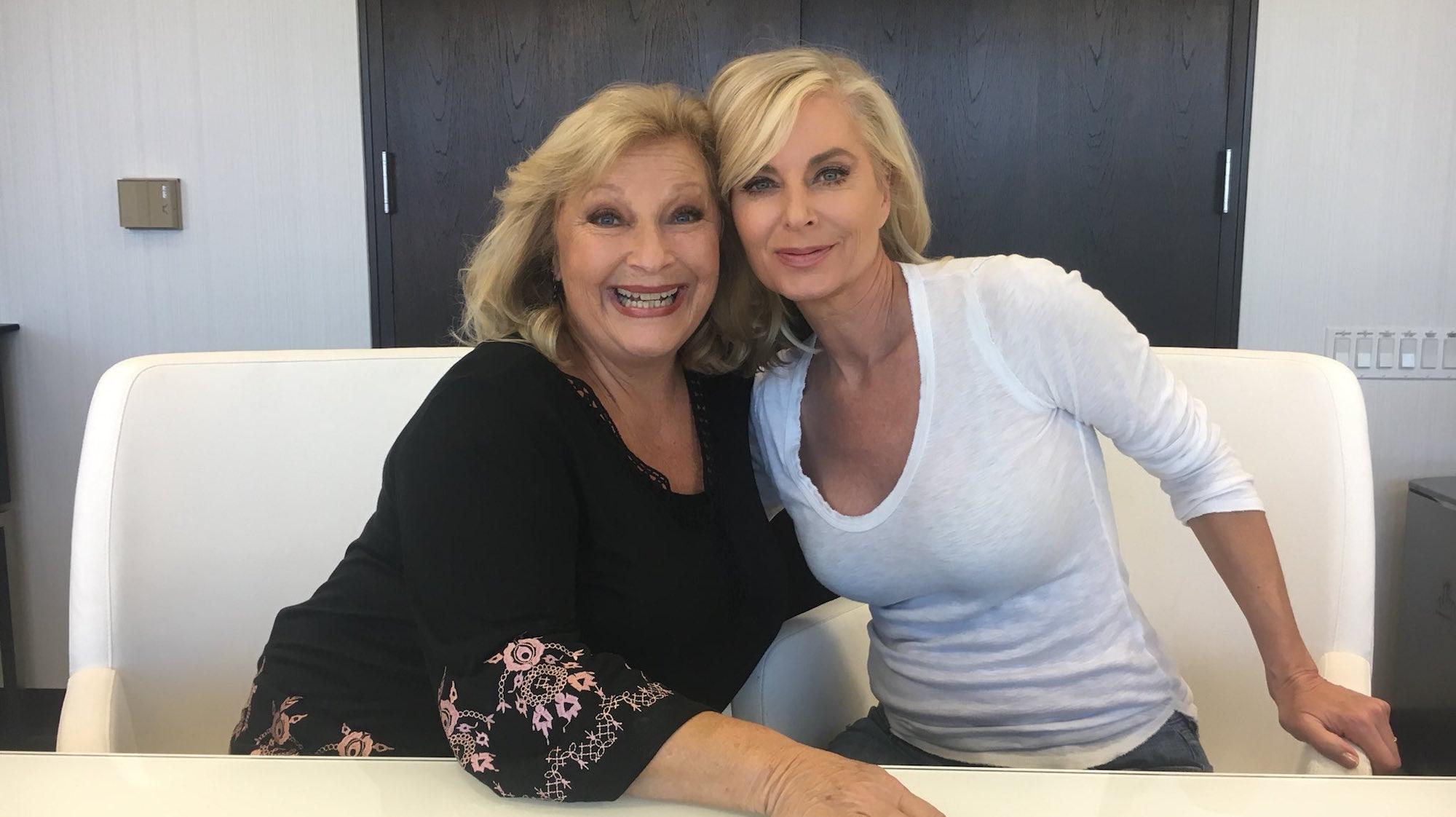 Beth Maitland and Eileen Davidson - Twitter