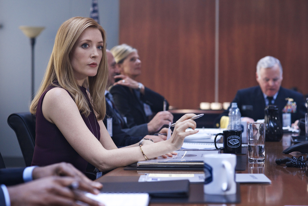 Jennifer Finnigan on Salvation - CBS/Getty