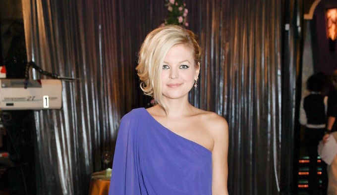 Kirsten Storms Blue Dress - JPI