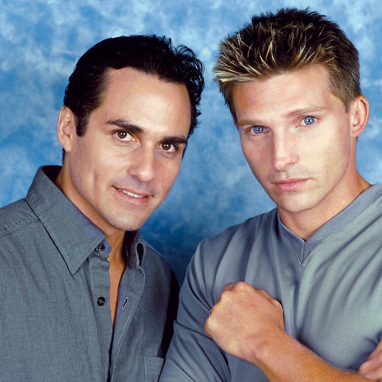 Maurice Benard and Steve Burton - Jim Warren