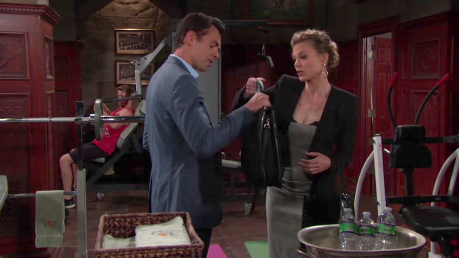 Y&R Billy and Phyllis - CBS