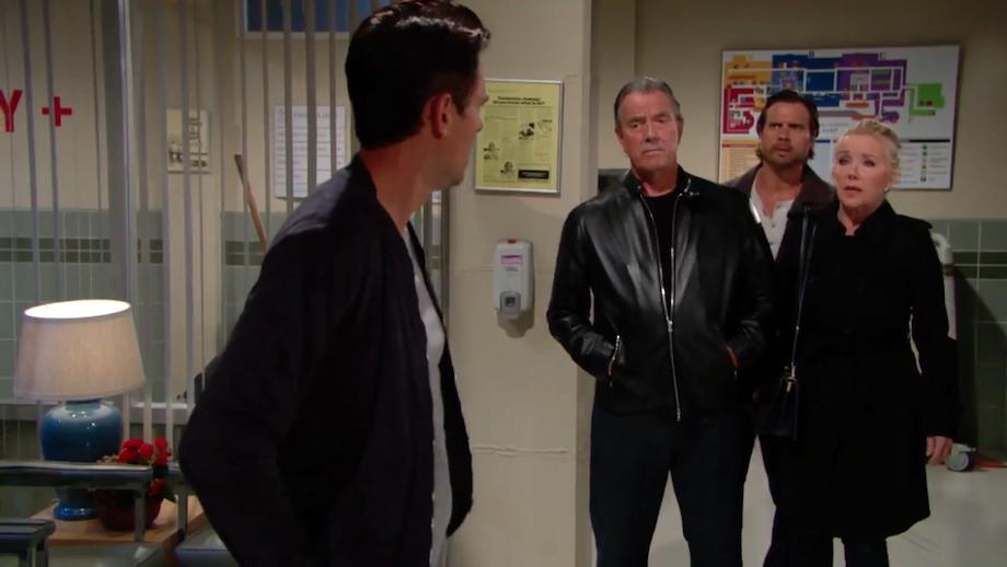 Y&R Billy, Victor, Nick, & Nikki - CBS